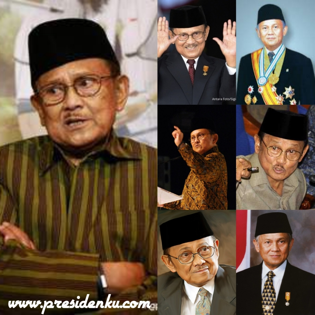 Kehebatan Presiden BJ Habibie Hanya Dalam 1 Tahun Pemerintahan